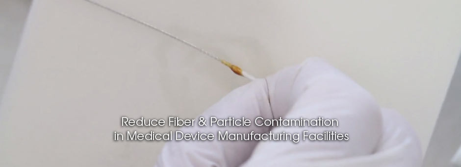 Cleanroom Wipers for Medical Device Manufacturing Facilities